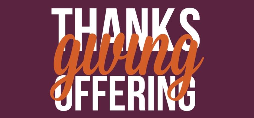 thanksgiving oggering